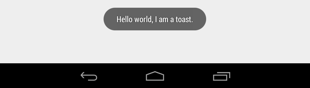 How to show a Toast for a specific duration in Android